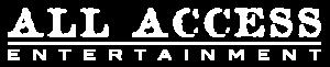 Logo All Access B&W White